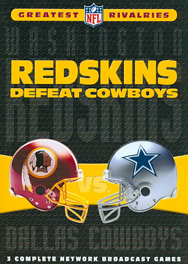 NFL'S GREATEST RIVALRIES:WASHINGTON V (DVD) [5 DISCS]